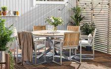 bastad-bord-150-runt-teak-6-stolar-borstad-aluminium-1626632