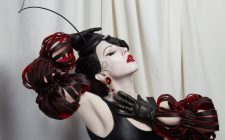 Image_Marchioness Long Red & Black Cout Out II