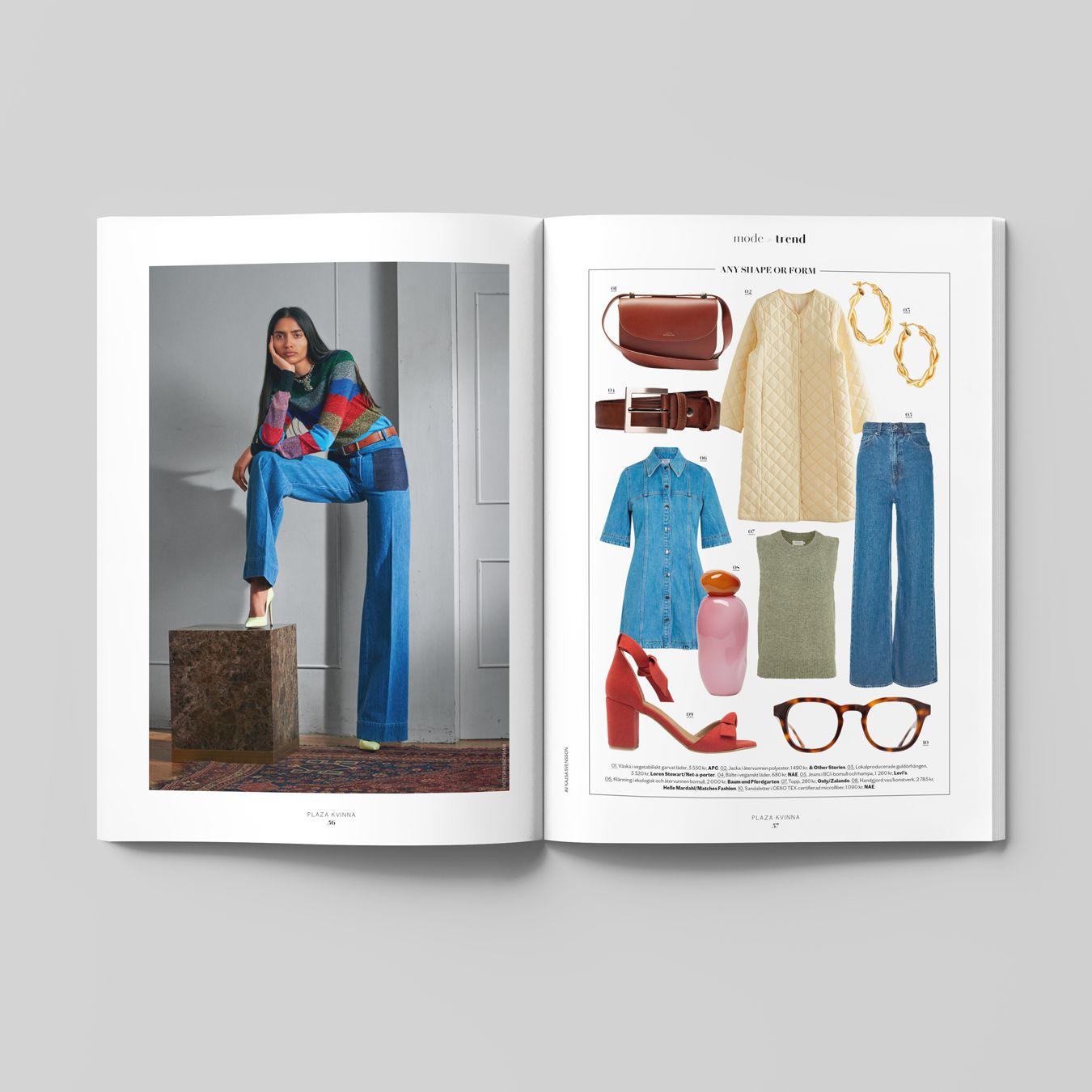 NYTT HÅLLBARHETSNUMMER i butik nu! Plaza Kvinna nr 1/2021 – trevlig läsning!