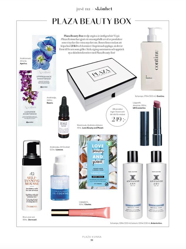 Ny utgåva av vår älskade Beauty Box! Shoppa den nu via Lyko.com
